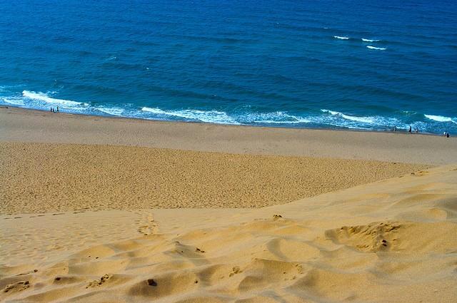 дюны Тоттори Япония