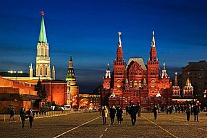 Transfer and taxi service to/from Red Square