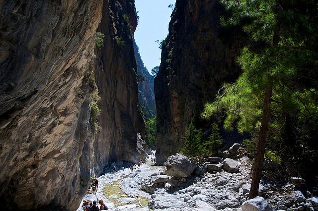 Самарийское ущелье Крит