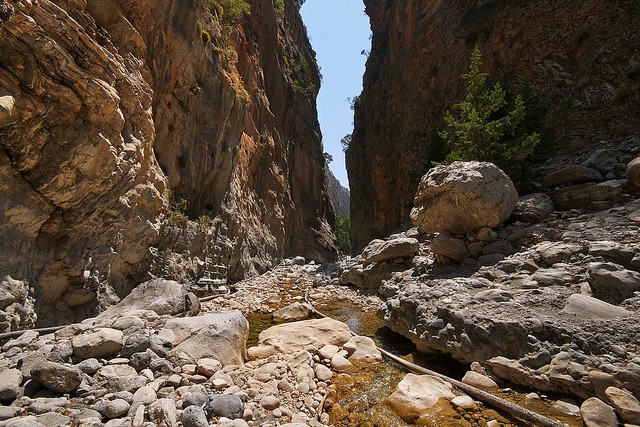 Самарийское ущелье Ханья