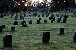 Лесное кладбище в Швеции