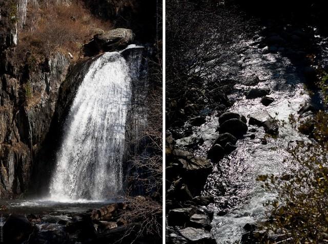 Водопад Корбу Россия