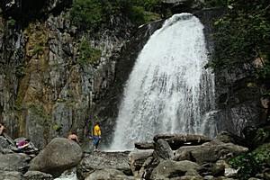 Водопад Корбу, Россия