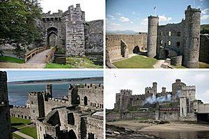 Замки и крепости короля Эдуарда I