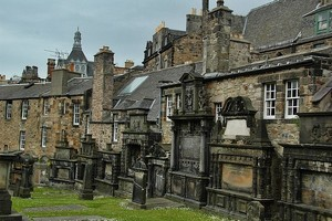 Кладбище Грейфрайерс в Эдинбурге