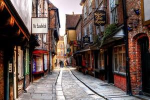Улица Шемблз в Йорке, Англия