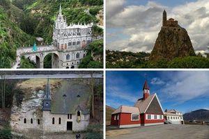 10 церквей расположенных в необычных местах