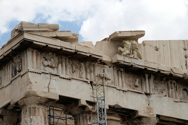 Храм Парфенон Греция