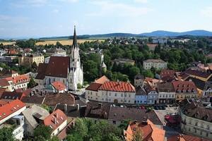 Город Мельк в Австрии